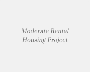 Moderate Rental Housing Project