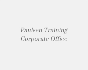 Paulsen Training Corporate Office